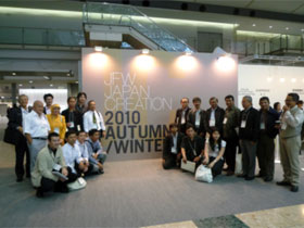 JFW Japan Creation 2010 Autumn/Winter視察