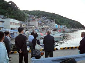 Observing fishing communities in Kainan City, Wakayama Prefecture