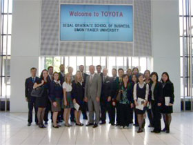 Visit to TOYOTA Motor Corporation