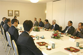 Luncheon hosted by Director-General of the Agency for Natural Resources and Energy