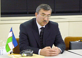 H.E. Mr. Mavlyanov, Chairman of State Committee on Geology and Mineral Resources of the Republic of Uzbekistan