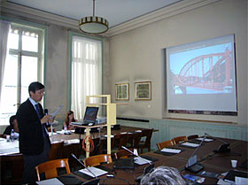 Presentation by a Japanese expert (second day)