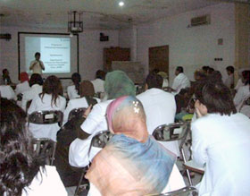 Lecture at Cipto Mangunkusumo Hospital attached to the University of Indonesia