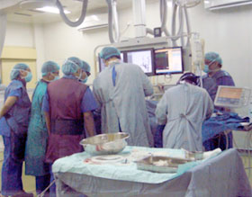 Practical demonstration at Cipto Mangunkusumo Hospital attached to the University of Indonesia