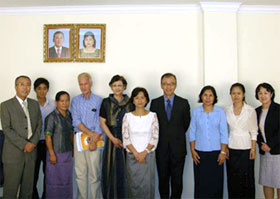 11/7 Courtesy call on H.E. Dr. Ing Kantha Phavi, Minister of Women's Affairs, Cambodia