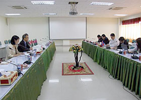 11/7 Visit to Ministry of Commerce, Cambodia