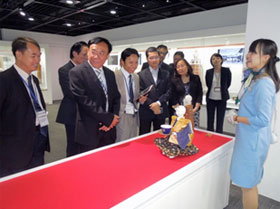 Visit to Toshiba Science Museum (Toshiba Corporation)