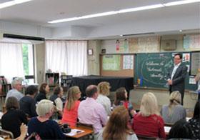 広島市立基町小学校(学校訪問)